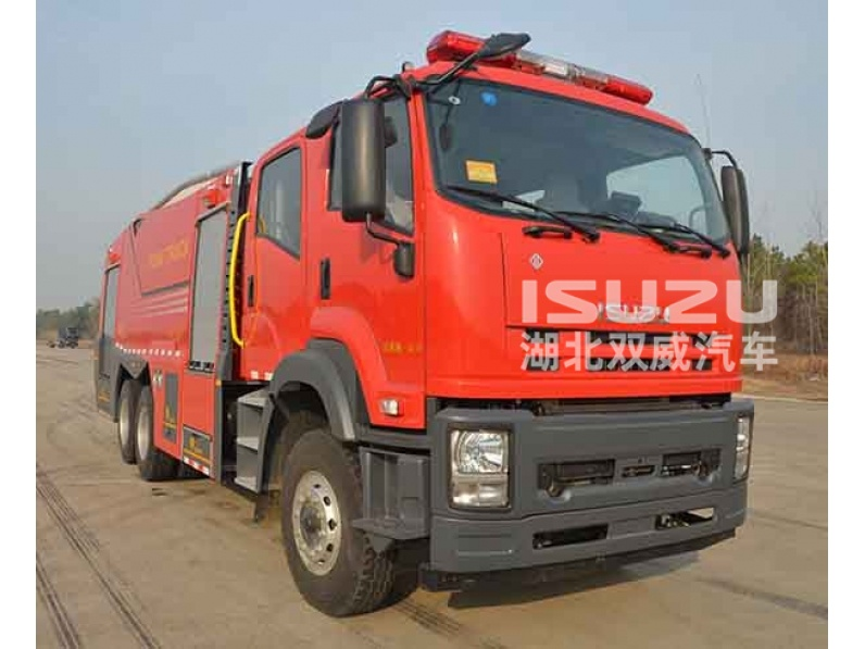 factory price Isuzu 6x4 drive high quality 15 tons water/foam fire truck for sale