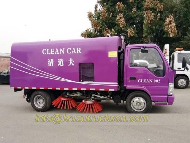vente chaude voiture de nettoyage balai 4cbm de isuzu en chine. Black Bedroom Furniture Sets. Home Design Ideas