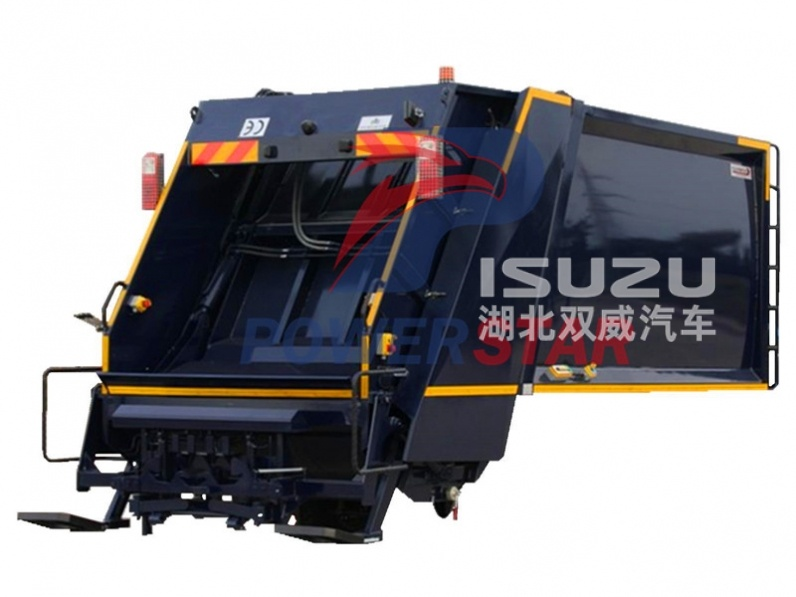 Hydraulic super structure for Hydraulic pressed garbage truck