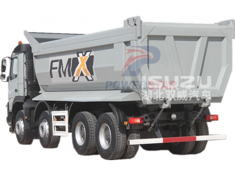 Low Price Hino 8X4 30 Cubic Meters Dump Truck Tipper Truck For Sale