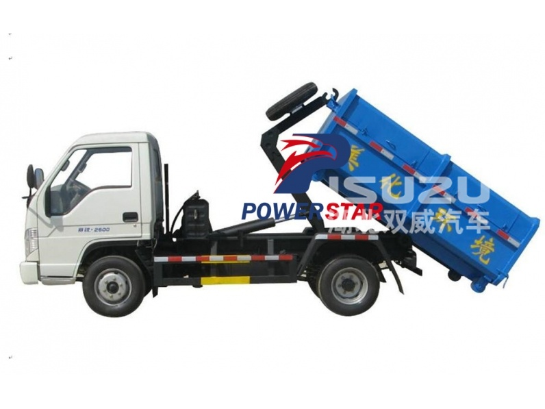 Quality 2Ton Detachable Tank Container Garbage Truck