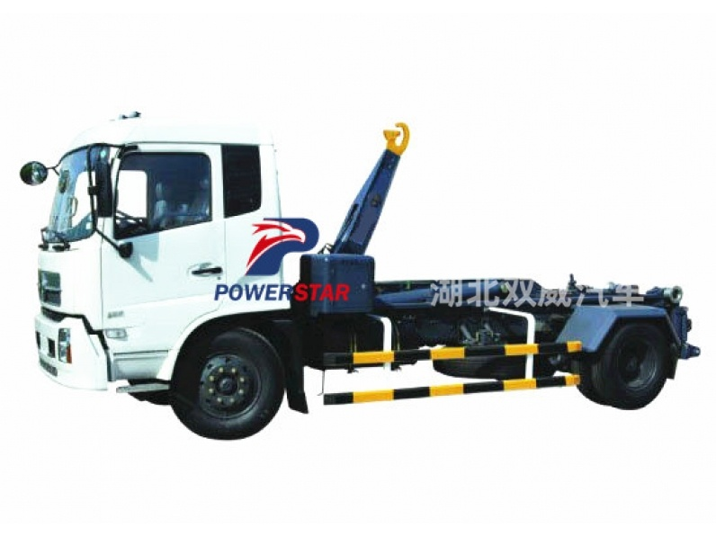 2017 Good Quantity XCMG official 15t Detachable container garbage collector Garbage Truck