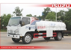 philippines 5000liters isuzu camion citerne d'eau potable à vendre