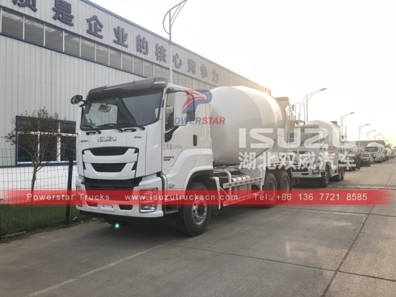 Japan ISUZU GIGA 6/8/10 concrete mixer truck/cement mixer for truck for sale