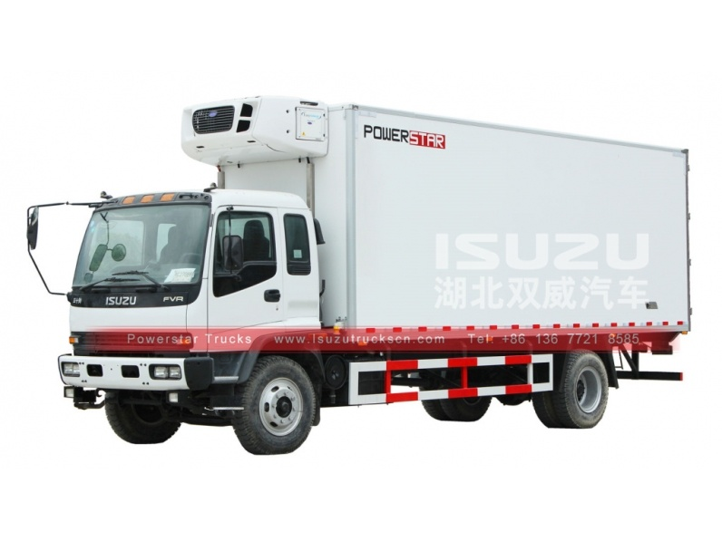 ISUZU 15t carrier fish meat transport van trucks