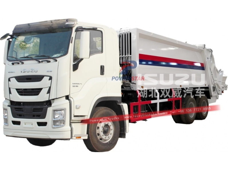 Isuzu GIGA Compression Garbage Truck for sale
