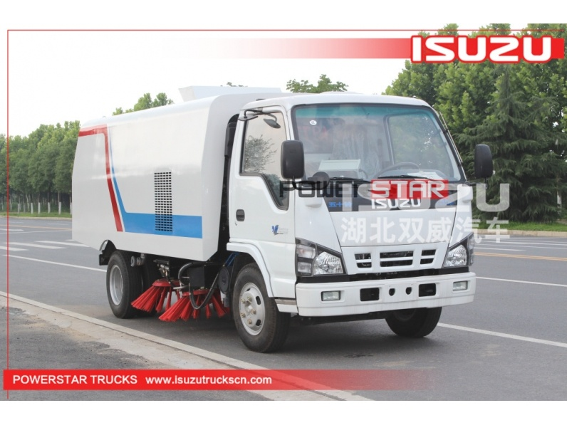 industrial road sweeper for sale by powerstar trucks