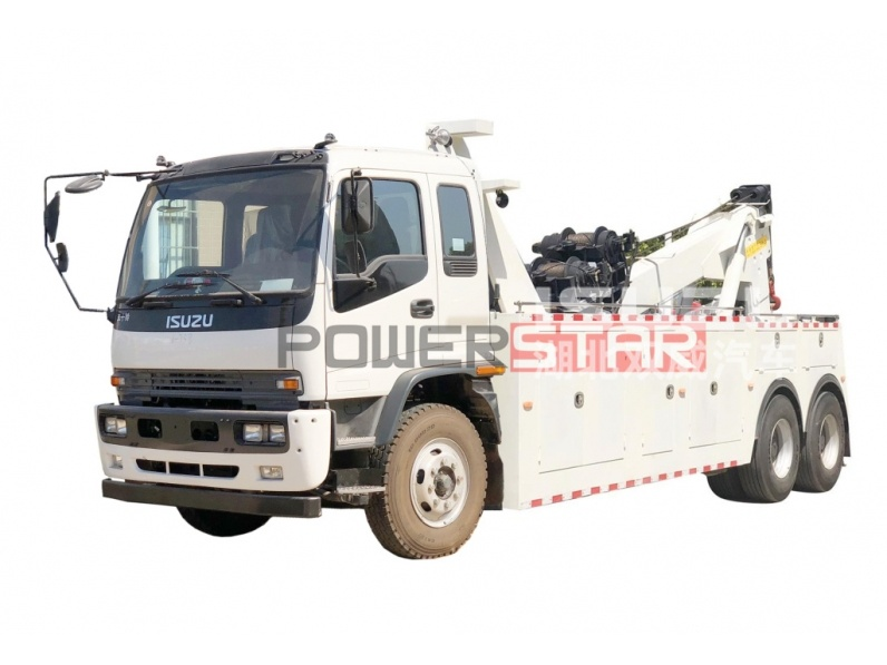 Brand new Isuzu Wrecker truck Rescue towing trucks,