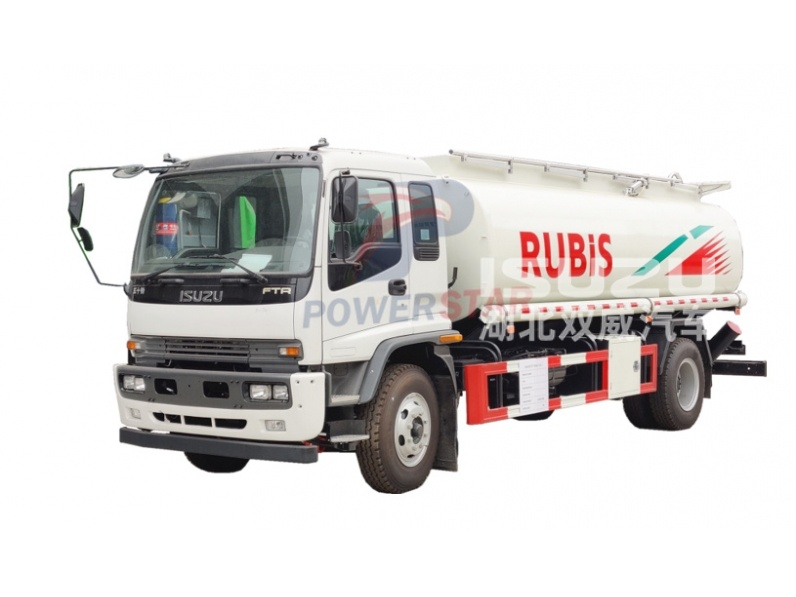Custom Fuel Oil Delivery Truck ISUZU 4x2 For Transport Gasoline