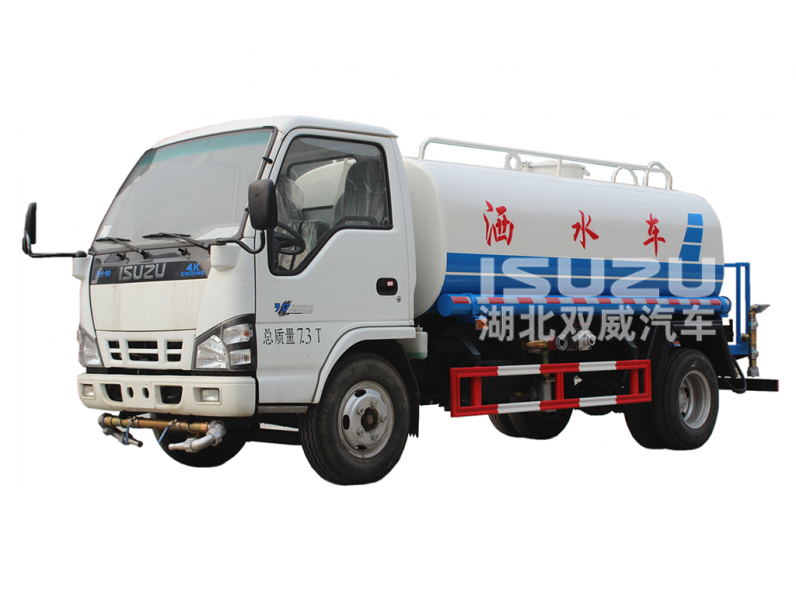 ISUZU Stainless Steel Drinking water carting tank 6 Wheeler Water Delivery Truck